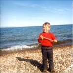David at Lake Superior 2